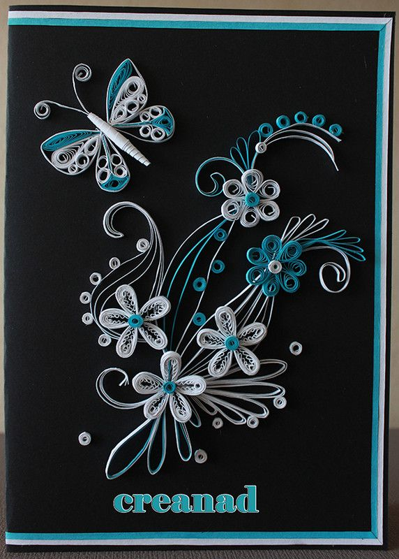 quilling modele fleurs. Black Bedroom Furniture Sets. Home Design Ideas
