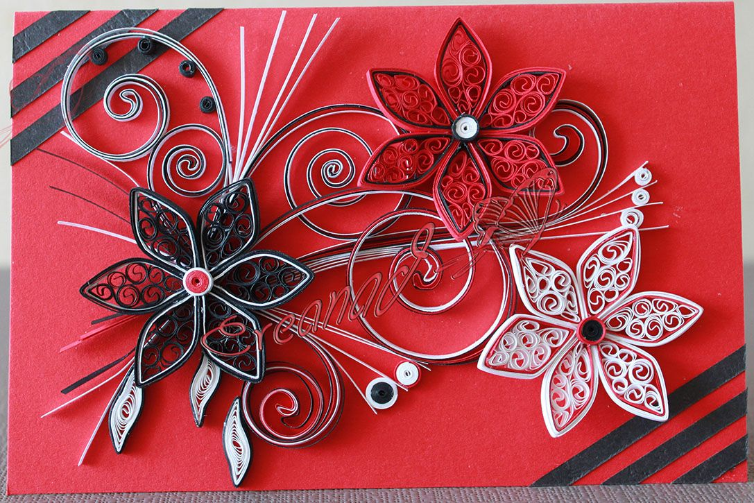 patron quilling. Black Bedroom Furniture Sets. Home Design Ideas